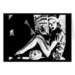 Arte-Vintage Halloween 49 del Tarjeta-Día de fiest