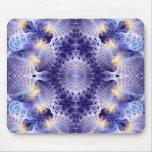 Arte visionario #68 Mousepad del fractal Alfombrillas De Ratones