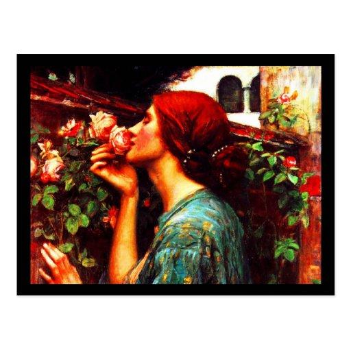 Arte-Waterhouse Postal-Clásico 18