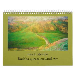 arte y Buda Calendario De Pared
