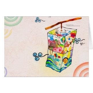 Arte y cultura coreanos tarjeta pequeña