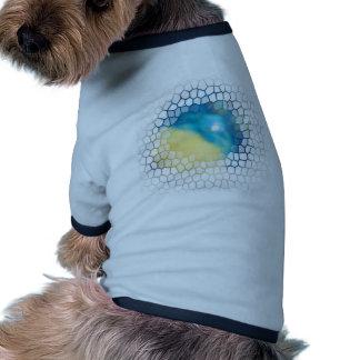 Arte y diseño abstractos de levantamiento de Crick Ropa Para Mascota