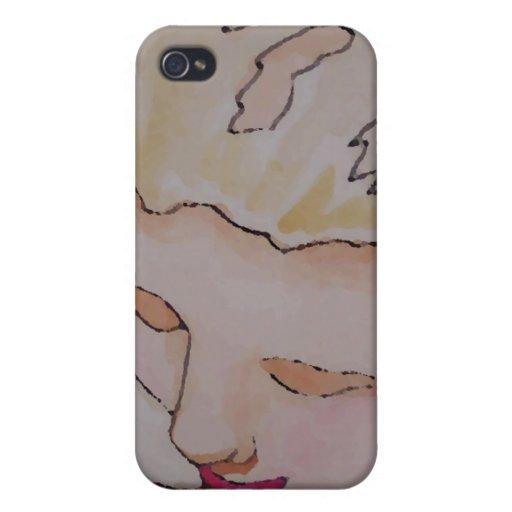 """Arte y diseño de """"princesa Girl"""" CricketDiane iPhone 4/4S Funda"""