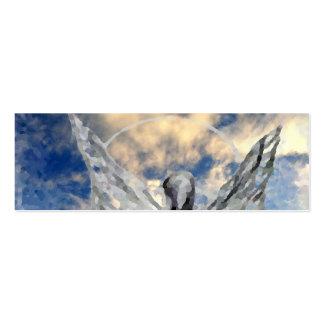 Arte y diseño místicos de CricketDiane del ángel Tarjetas De Visita Mini