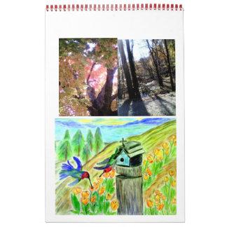 Arte y fotografía 24 calendarios del mes