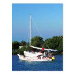 Arte y skiffs, Belice de la pesca Tarjetas Postales