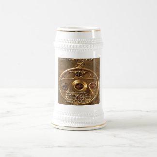 Artefacto y regalos y tarjetas célticos del prover jarra de cerveza