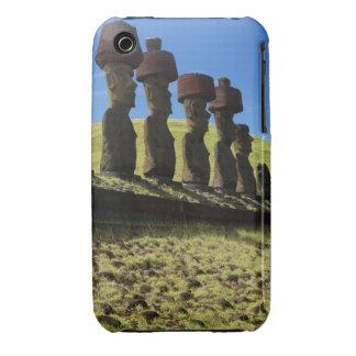 Artefactos de Rapa Nui, isla de pascua Case-Mate iPhone 3 Coberturas
