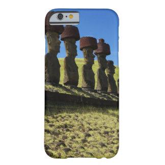 Artefactos de Rapa Nui, isla de pascua Funda Para iPhone 6 Barely There