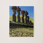 Artefactos de Rapa Nui, isla de pascua Rompecabeza