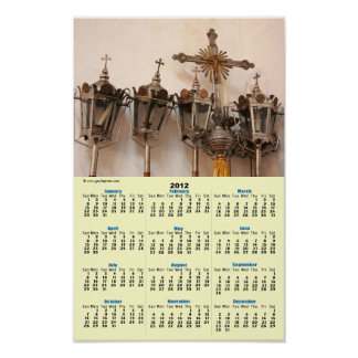 Artefactos religiosos póster