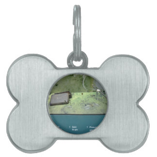 Artefactos titánicos placa mascota