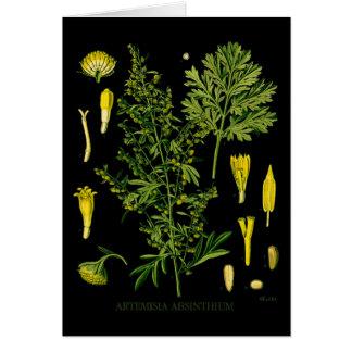 Artemesia Absinthium Greeting Card