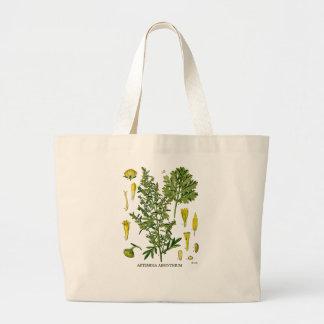 Artemesia Absinthium Large Tote Bag