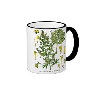 Artemesia Absinthium Ringer Coffee Mug