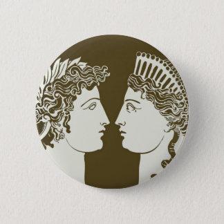 Artemis and Apollo Button