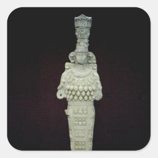Artemis del Ephesians, ANUNCIO 135-175 Calcomanía Cuadrada Personalizada