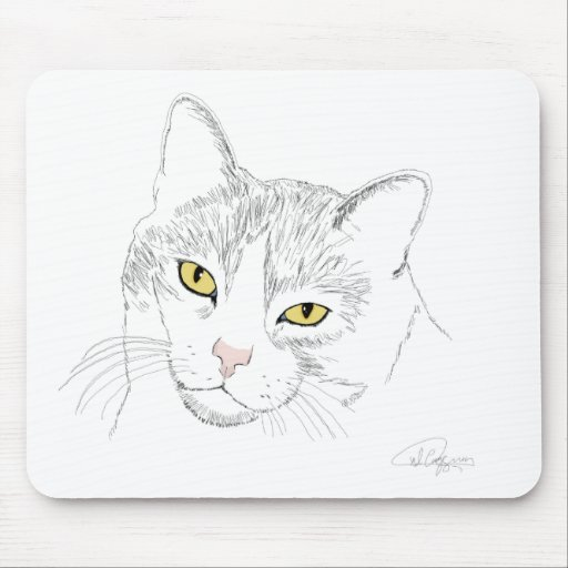 Artemis Drawing Mouse Pad