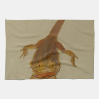 Artemis el dragón barbudo toallas de mano