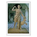 Artemis el Huntress, conocido como la 'Diana de Ve Tarjeta De Felicitación