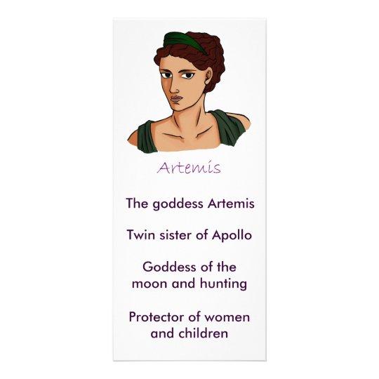 Artemis information card