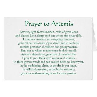 Artemis Notecard Tarjeton