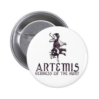 Artemis Pin Redondo De 2 Pulgadas