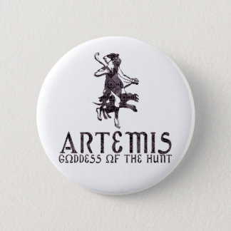 Artemis Pinback Button