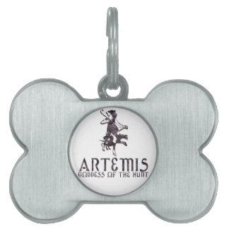 Artemis Placas De Mascota