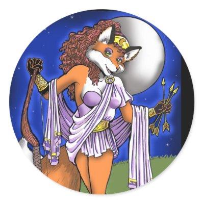 Artemis Greek Goddess Cartoon. the Greek goddess Artemis.