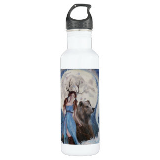 Artemis the Huntress, Original Art Stainless Steel Water Bottle
