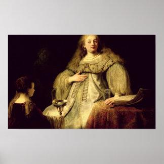 Artemisia, 1634 poster