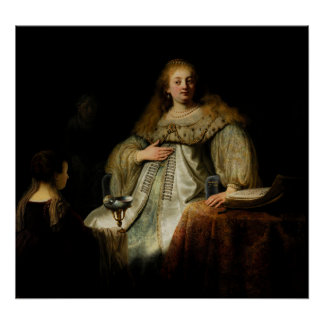 Artemisia by Rembrandt Posters