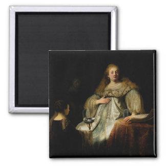 Artemisia by Rembrandt van Rijn Fridge Magnets