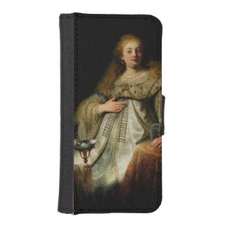 Artemisia by Rembrandt van Rijn Phone Wallet