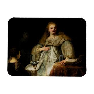 Artemisia by Rembrandt van Rijn Vinyl Magnet