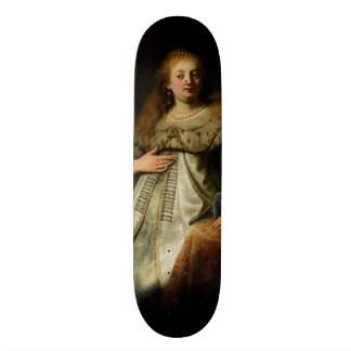 Artemisia by Rembrandt van Rijn Custom Skate Board