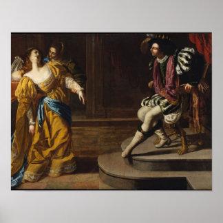 Artemisia Gentileschi Art Print