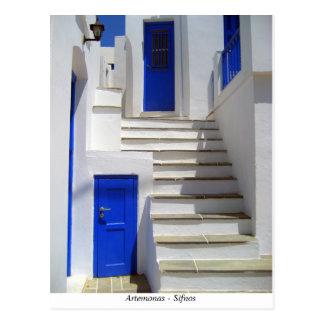 Artemonas – Sifnos Postcard