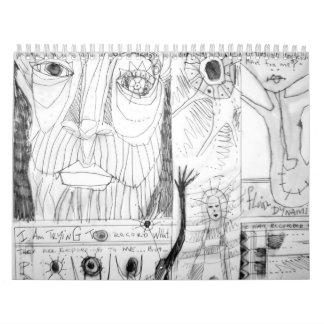 arteologist sketchbook 1995 calendar