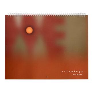 ARTEOLOGY new day new way Calendar