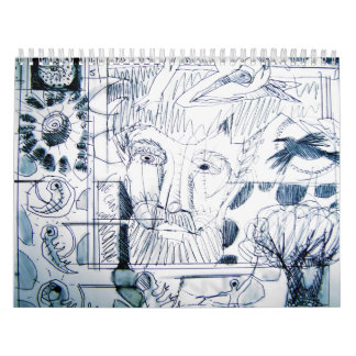 arteology sketches from 1995 calendar