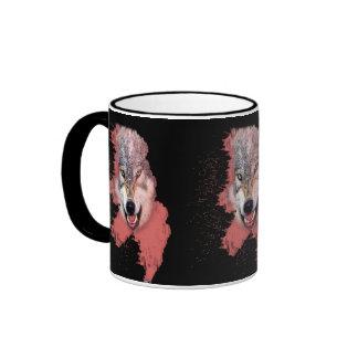 arteology wolf ringer mug