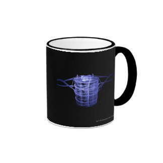 Arteries surrounding part of the spinal column ringer coffee mug