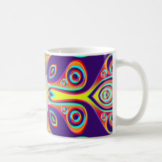 Artes abstractos - caleidoscopio 10 tazas de café