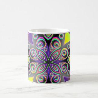 Artes abstractos - caleidoscopio 13 taza
