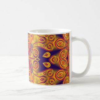 Artes abstractos - caleidoscopio 14 tazas de café