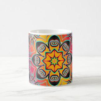 Artes abstractos - caleidoscopio 16 taza