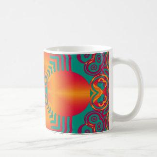 Artes abstractos - caleidoscopio 1 tazas