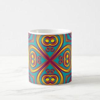 Artes abstractos - caleidoscopio 6 taza